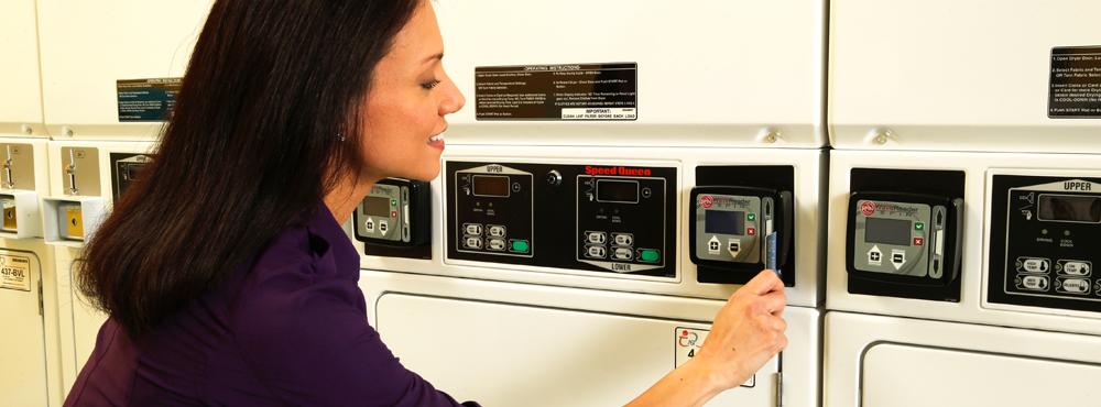 laundry machine key hack